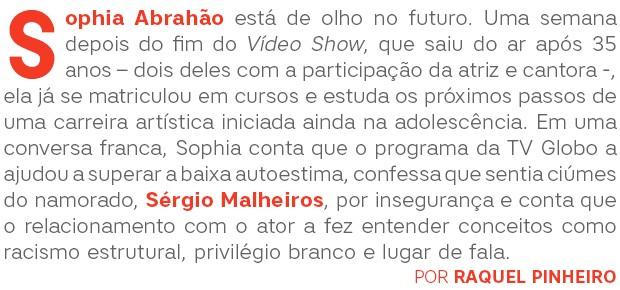 Sophia Abrahão Abre (Foto:  )