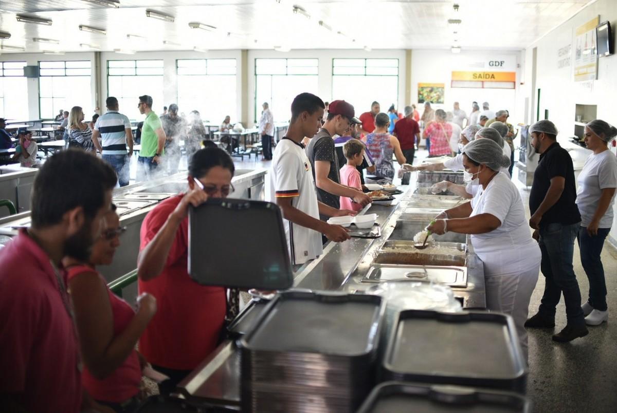 Restaurante Comunitário de Brazlândia é reaberto ao público