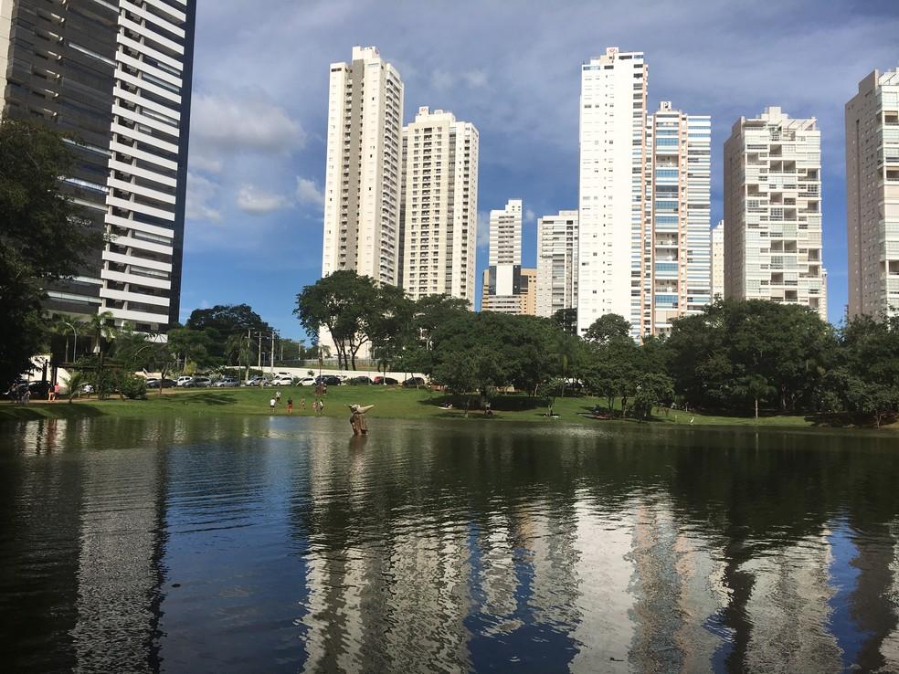 Parque Flamboyant, Goiânia, Goiás — Foto: Vanessa Chaves/G1