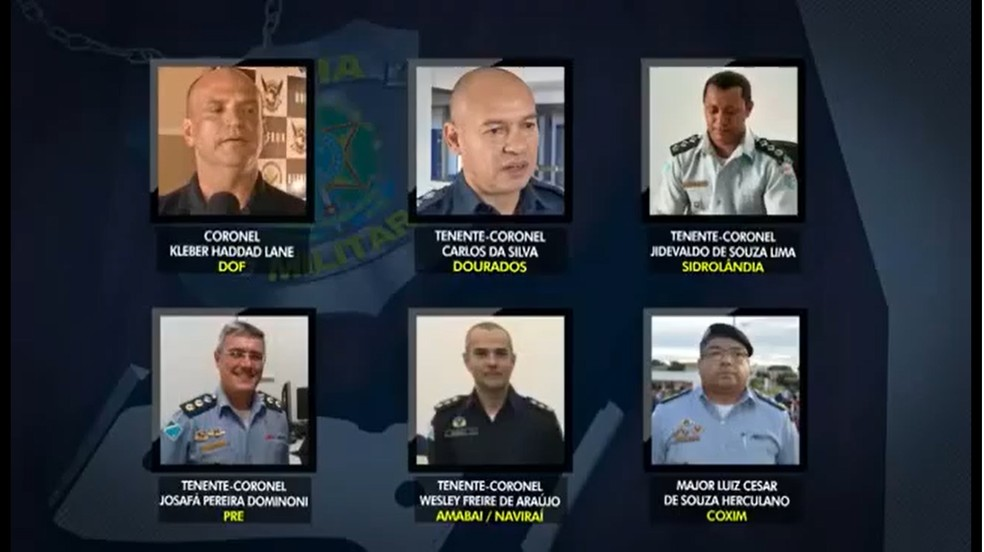 Cúpula da Polícia Militar em MS participava de esquema criminoso para contrabando de cigarros, afirma Gaeco — Foto: TV Morena/Reprodução