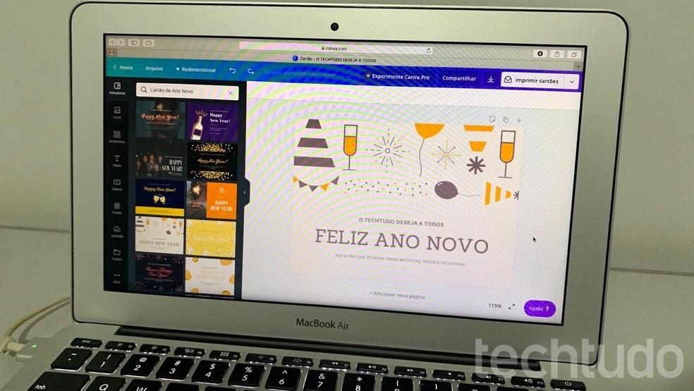 Mensagem De Ano Novo Como Criar Um Cartão De Feliz 2020
