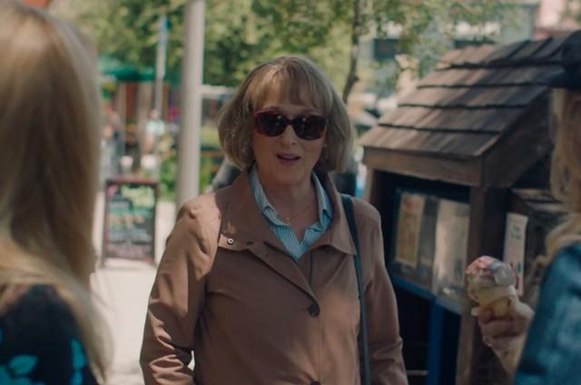 Meryl Streep em cena de 'Big little lies' (Foto: HBO)