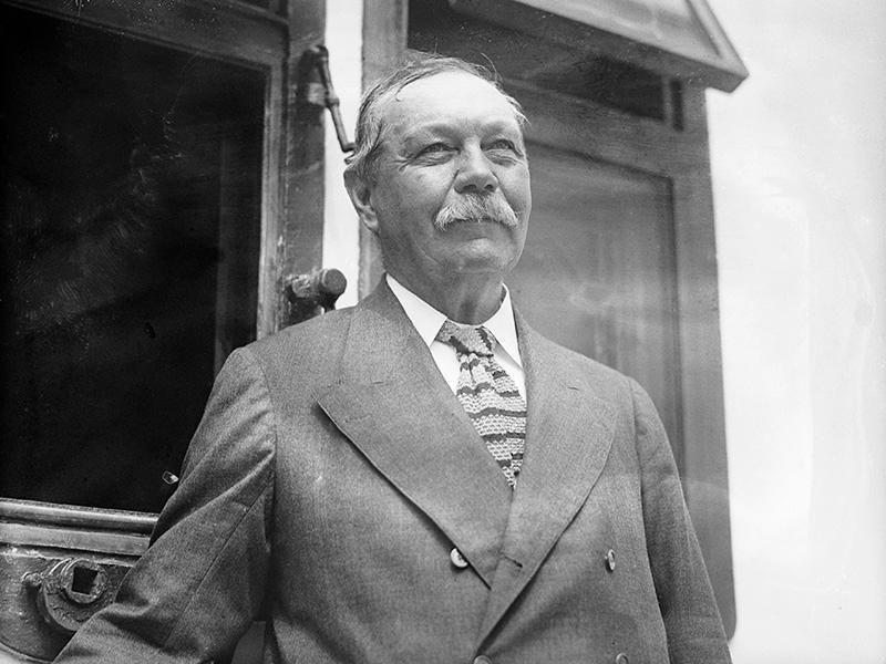 Sir Arthur Conan Doyle (Foto: Reprodução)
