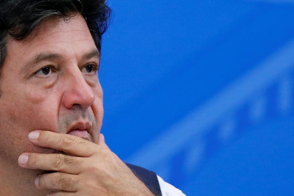 Luiz Henrique Mandetta — Foto: Adriano Machado / Reuters