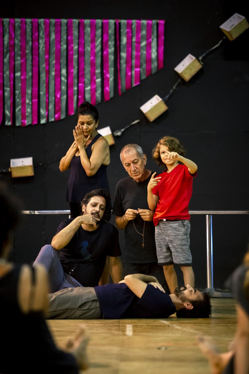 Detalhes da preparação de elenco de 'Bom Sucesso' — Foto: Fabiano Battaglin/Gshow