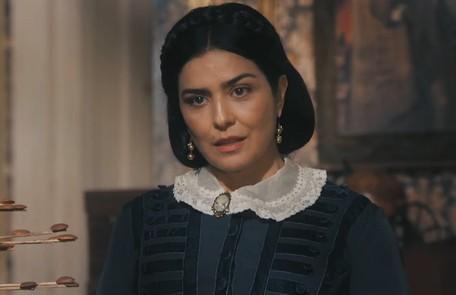 Na quinta (30), Teresa (Leticia Sabatella) confrontará Luísa (Mariana Ximenes), que desmaiará TV Globo
