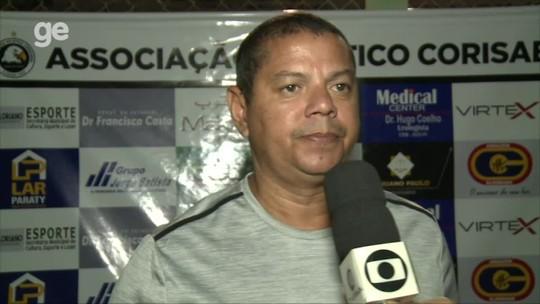 """Cori-Sabbá passa em primeiro teste com técnico, mas Valdomiro frisa: """"Tem que qualificar o elenco"""""""