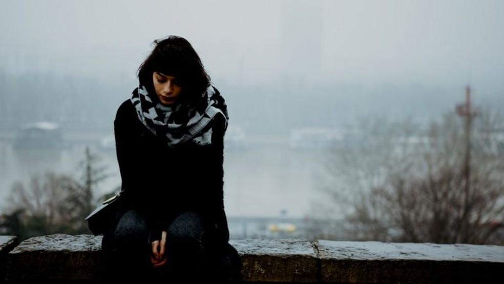 Transtorno afetivo sazonal é causado por pouca luz durante o inverno — Foto: Getty Images