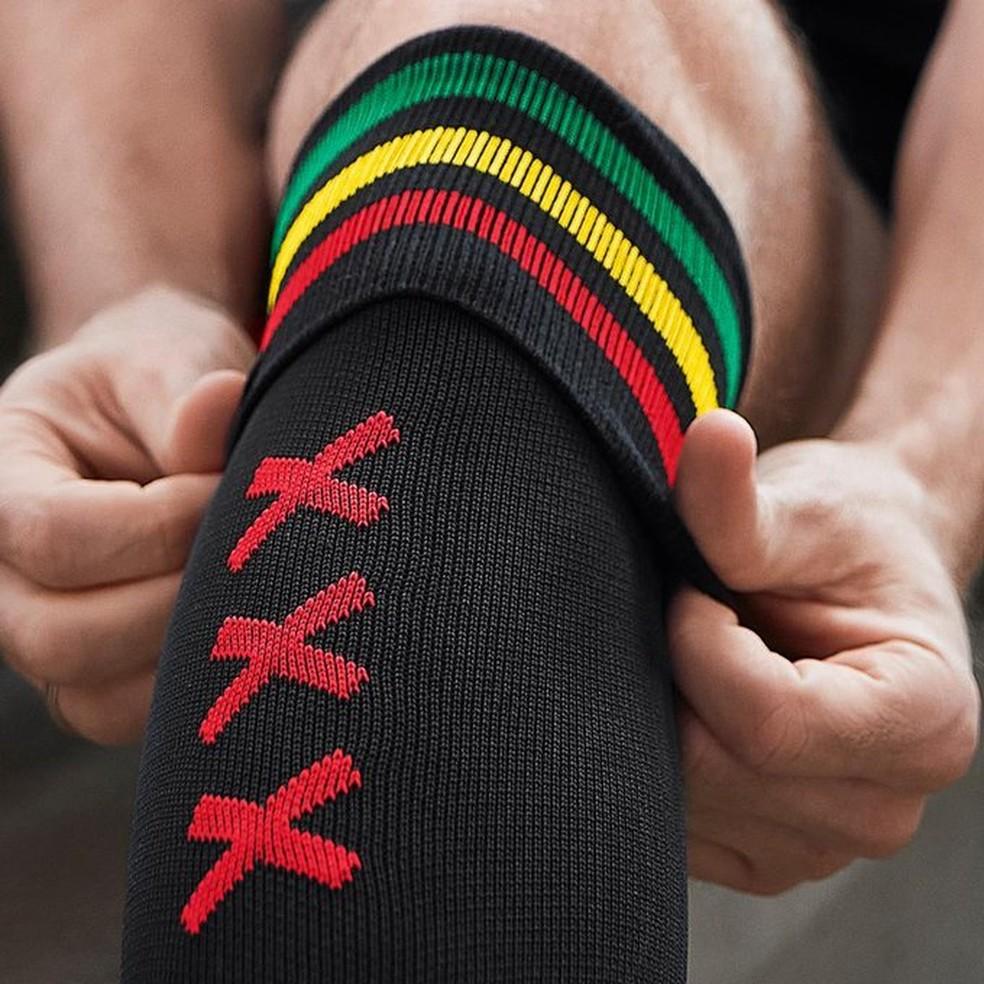 Uniforme Ajax Bob Marley — Foto: Divulgação/Ajax