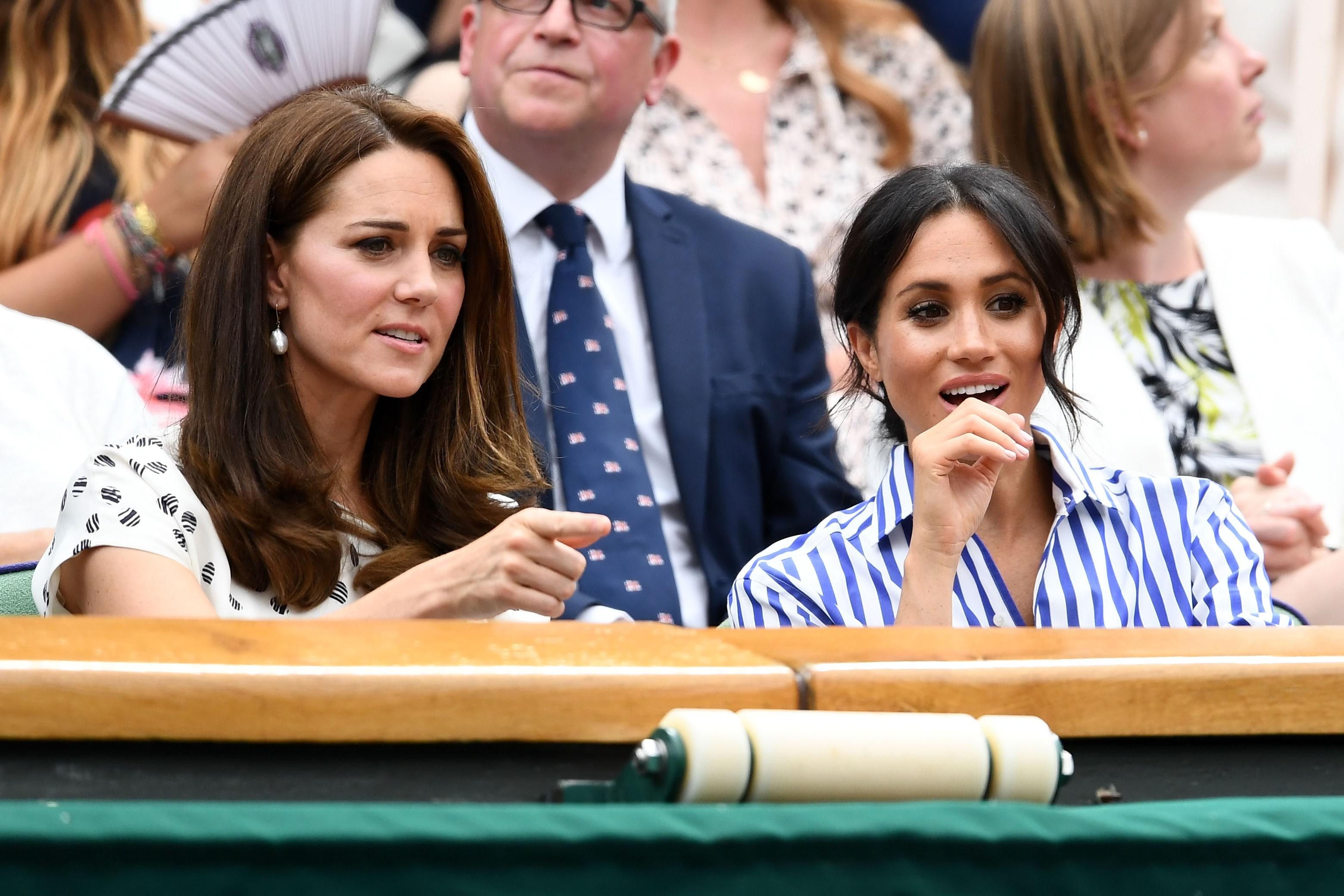 Kate Middleton e Meghan Markle (Foto: Getty Images)