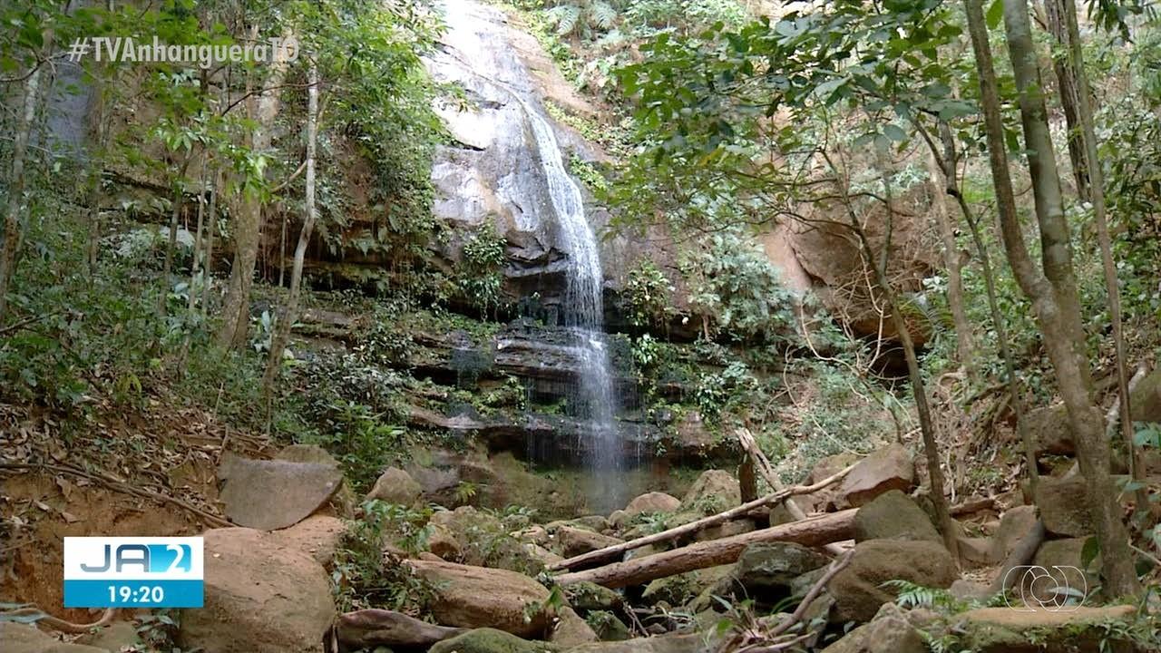 Estiagem de mais de 100 dias faz volume de água diminuir em cachoeiras de Taquaruçu - Notícias - Plantão Diário
