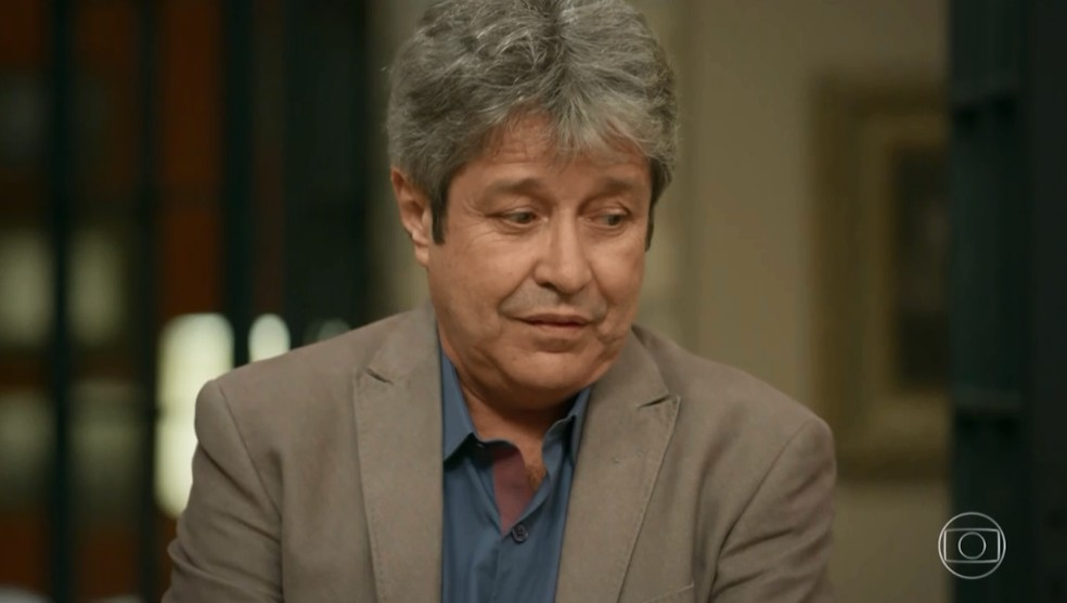 O ator João Carlos Barroso morreu aos 69 anos — Foto: TV Globo
