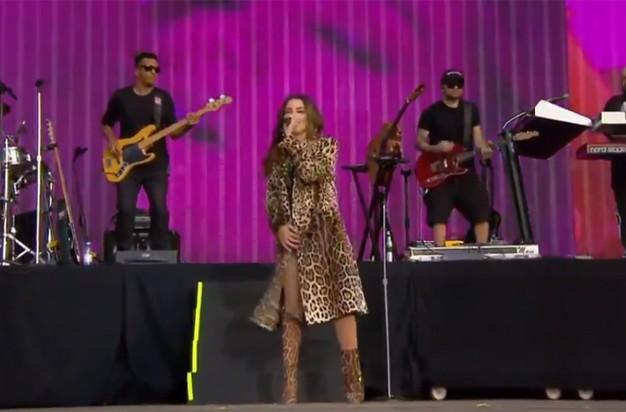 Anitta no Rock in Rio Lisboa (Foto: Reprodução/Multishow)
