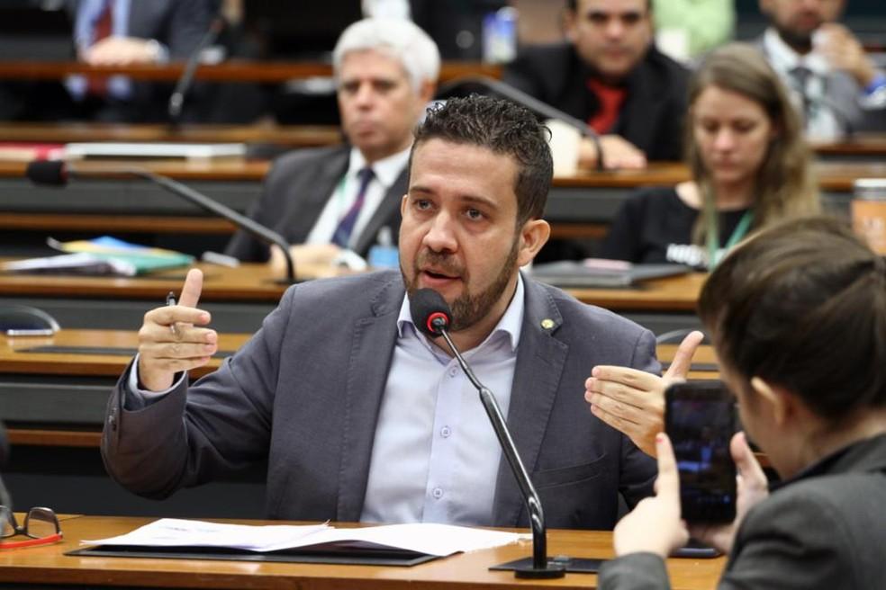 O deputado André Janones (Avante-MG) — Foto: Vinícius Loures / Câmara dos Deputados