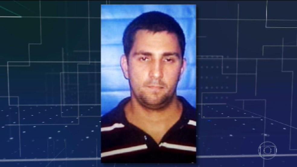 Adriano Magalhães da Nóbrega, miliciano morto em confronto com policiais militares em fevereiro de 2020. — Foto: Reprodução/TV Globo