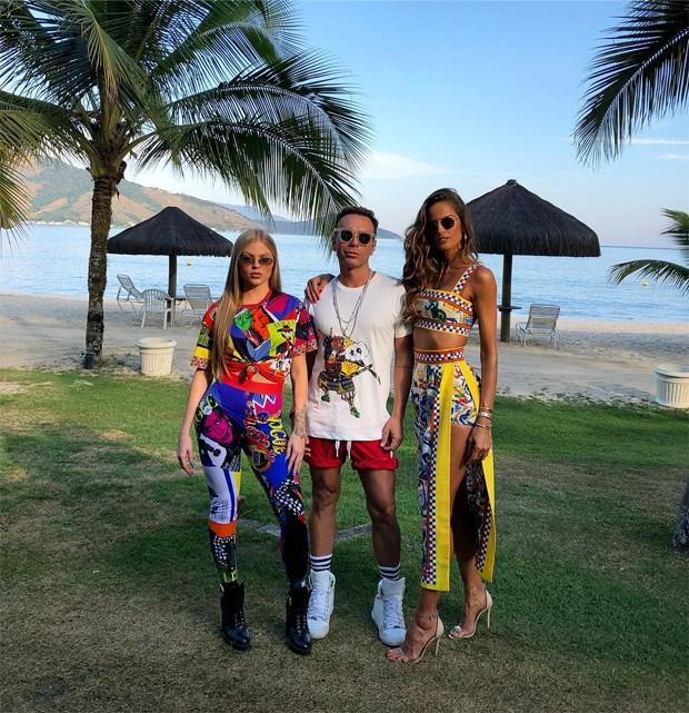 Luísa Sonza, Matheus Mazzafera e Izabel Goulart (Foto: Reprodução/Instagram)