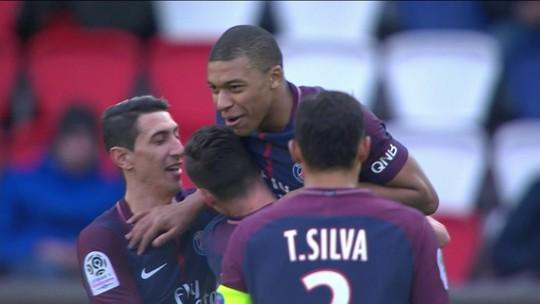 Os gols de PSG 2 x 1 Angers pela 31ª rodada do Campeonato Francês