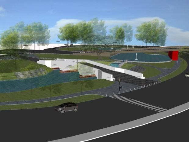 Largo dos Açorianos será revitalizado (Foto: Ivo Gonçalves/PMPA)