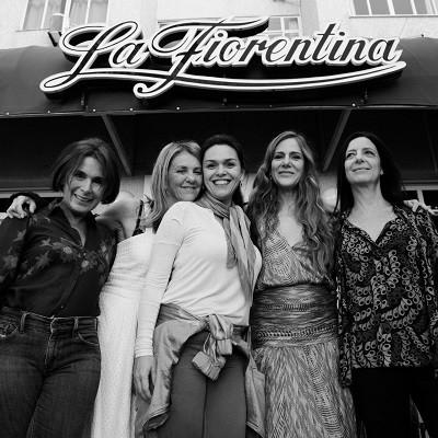 Cacá, Priscila, a produtora Renata Paschoal, Dedina e Clarice