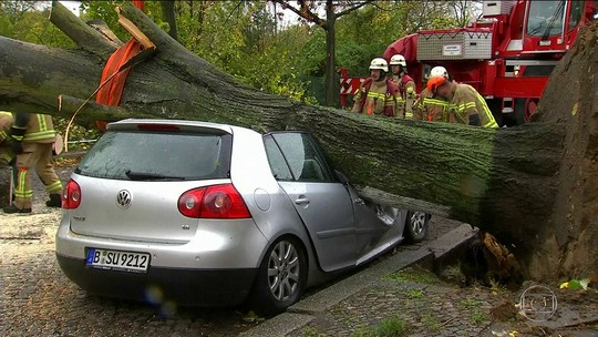 Tempestade Herwart mata 6 e provoca danos e transtornos na Europa