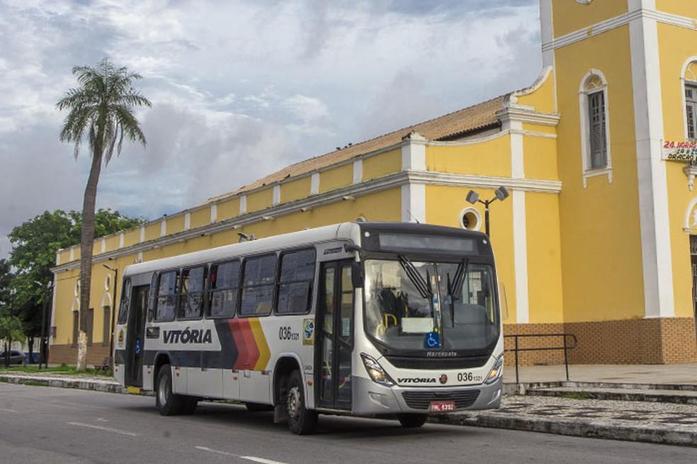 Serviço intermunicipal, entre Caucaia e outras cidades, continua sendo pago.— Foto: Divulgação/Vitória