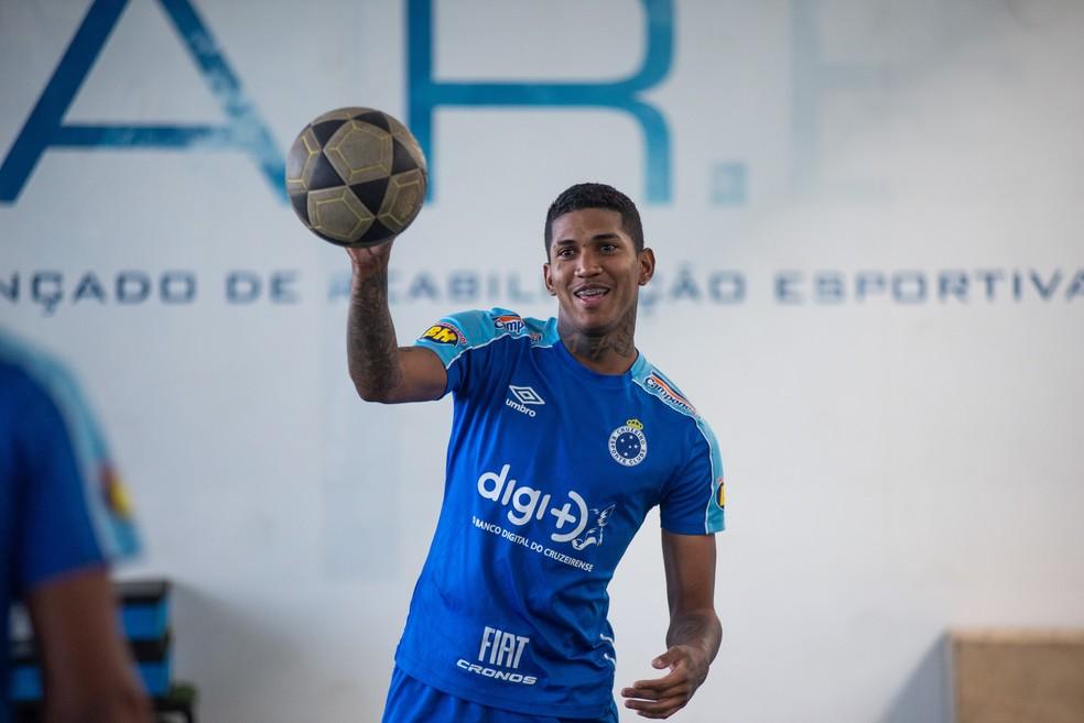 Raniel está perto de ser anunciado pelo São Paulo — Foto: Bruno Haddad/Cruzeiro
