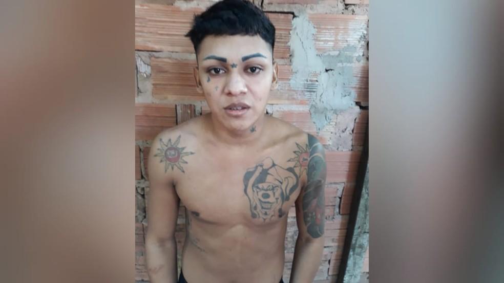 """Nanderson Wilckson, conhecido como """"Loirinho"""" é o principal suspeito de matar o ajudante de pedreiro Andresson Santos — Foto: Polícia Civil/Divulgação"""