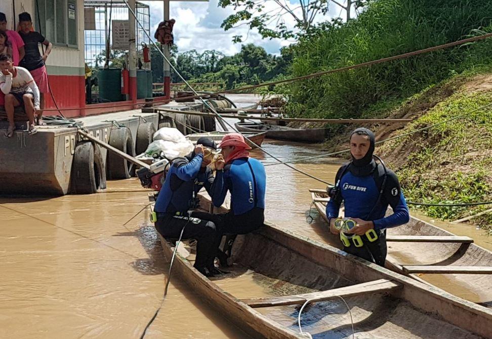 Homem desaparece em rio no interior do Acre e bombeiros fazem buscas