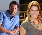 Marcelo Serrado e Priscila Fantin: piloto do 'A casa caiu' | TV Globo e Marcelo Martins/Extra
