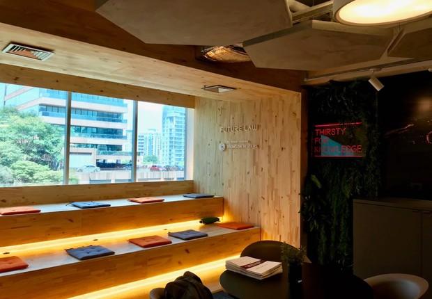 Espaço do Future Law Innovation Center, em São Paulo (Foto: Divulgação)