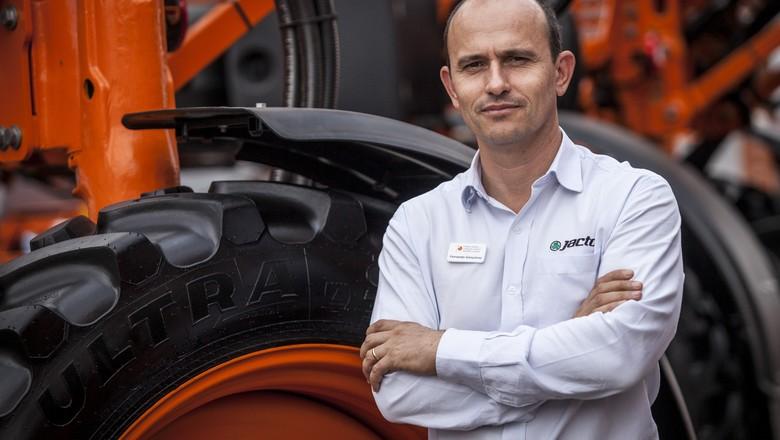 Rodrigo Junqueira, diretor de vendas Brasil da Valtra (Foto: Marcelo Curia/Ed.Globo)