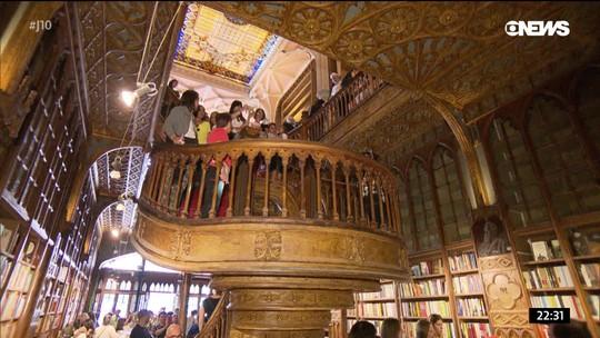 Centenária, livraria Lello, em Portugal, vai contra a corrente e é fenômeno de vendas