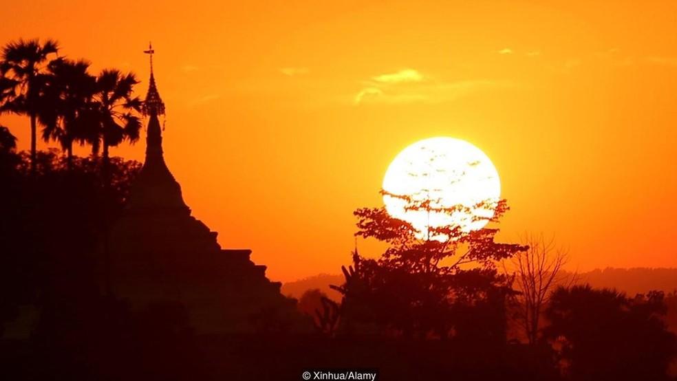 A capital de Mianmar foi oficialmente transferida de Yangon para Naypyidaw em 2006 — Foto: Divulgação/Alamy