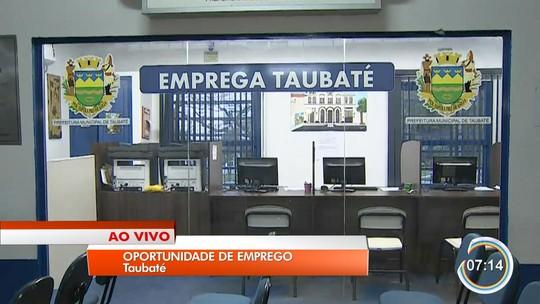 Balcão de Emprego e PAT oferecem 43 vagas em Taubaté, SP