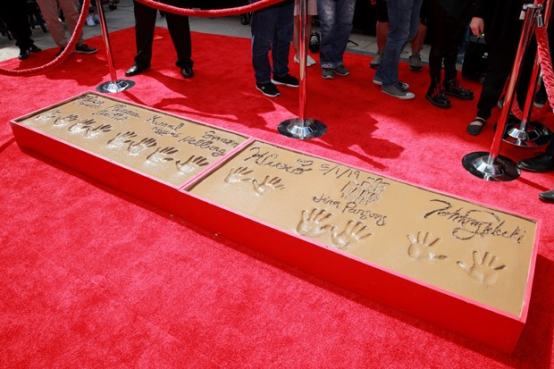 The Big Bang Theory: Série fica eternizada no Chinese Theatre (Foto: Getty Images)