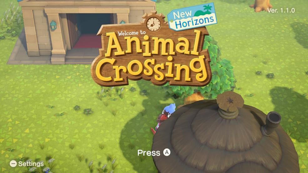Animal Crossings: New Horizons é fácil de entender, mas algumas dicas são bem vindas — Foto: Reprodução/Felipe Vinha