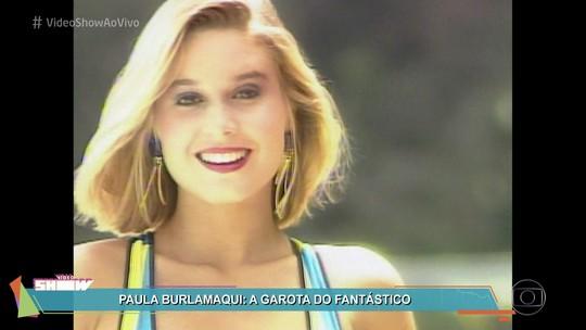 Paula Burlamaqui foi a vencedora do 'Garota do Fantástico' há 30 anos