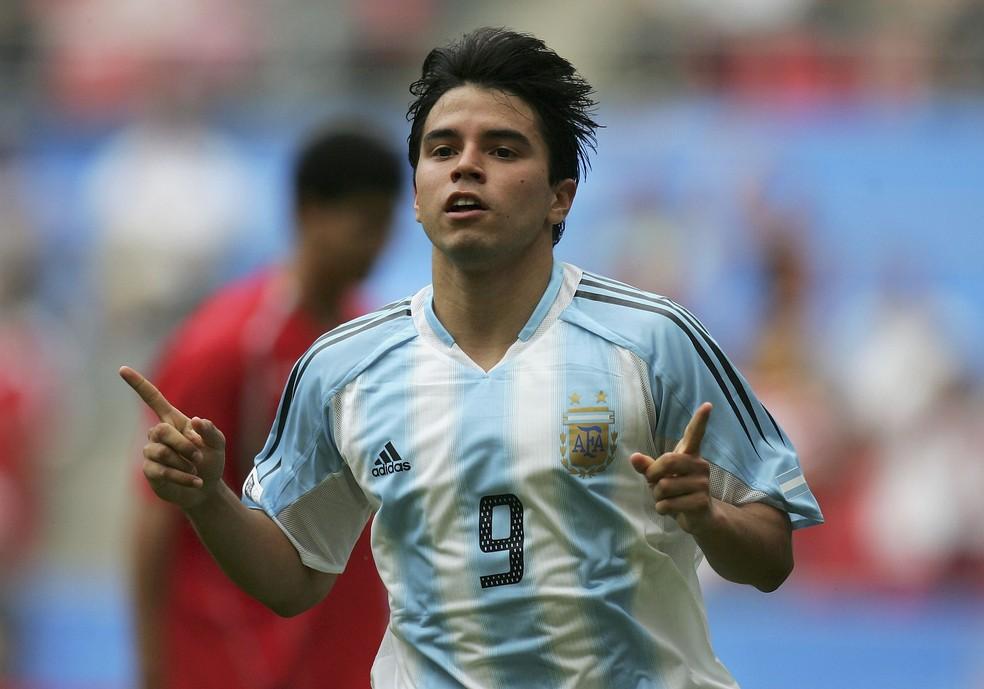 Javier Saviola, ex-seleção argentina, vai participar do Jogo das Estrelas — Foto: Getty Images