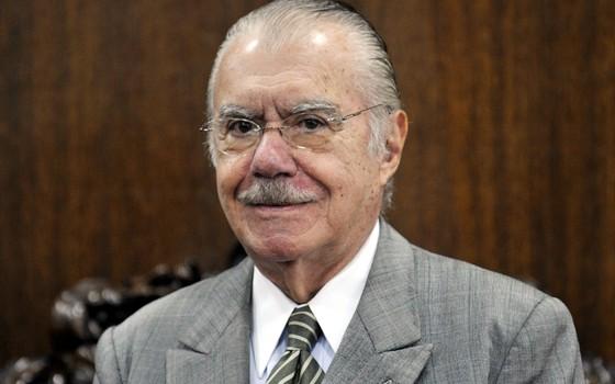 José Sarney (Foto: Antonio Cruz/ABR)