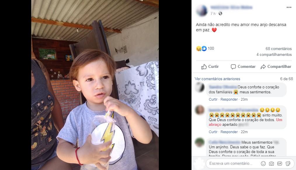 Bebê sai de casa após distração da família, cai em lago e morre em Biritiba-Mirim - Notícias - Plantão Diário