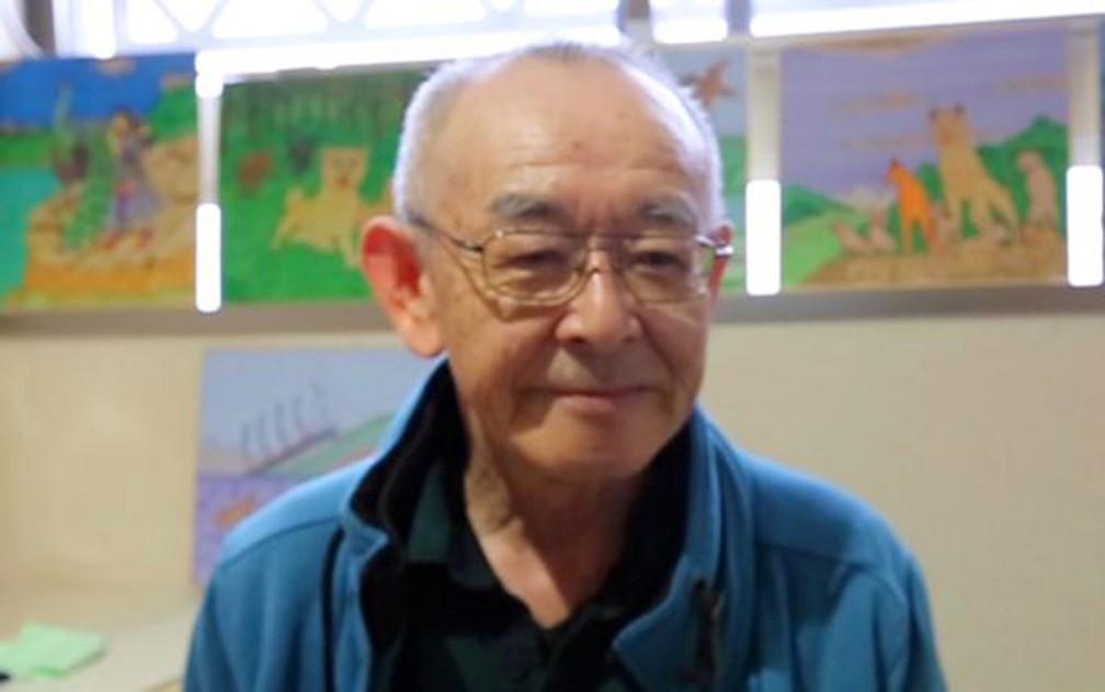 'Se eles estivessem por perto para me apoiar, eu não teria feito isso', diz Toshio — Foto: BBC