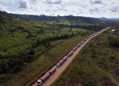 estrada-caminhão-frete (Foto: Fernando Martinho/Ed. Globo)