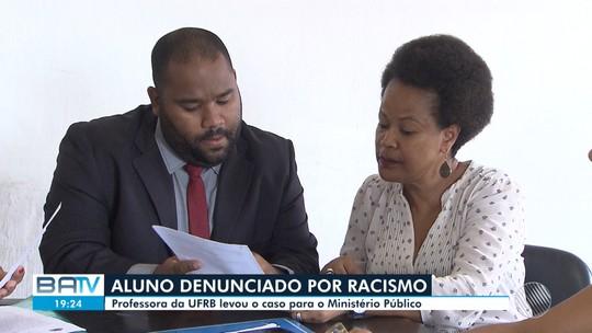 Aluno denunciado por racismo contra professora da UFRB tentou entrar na universidade através de cotas raciais