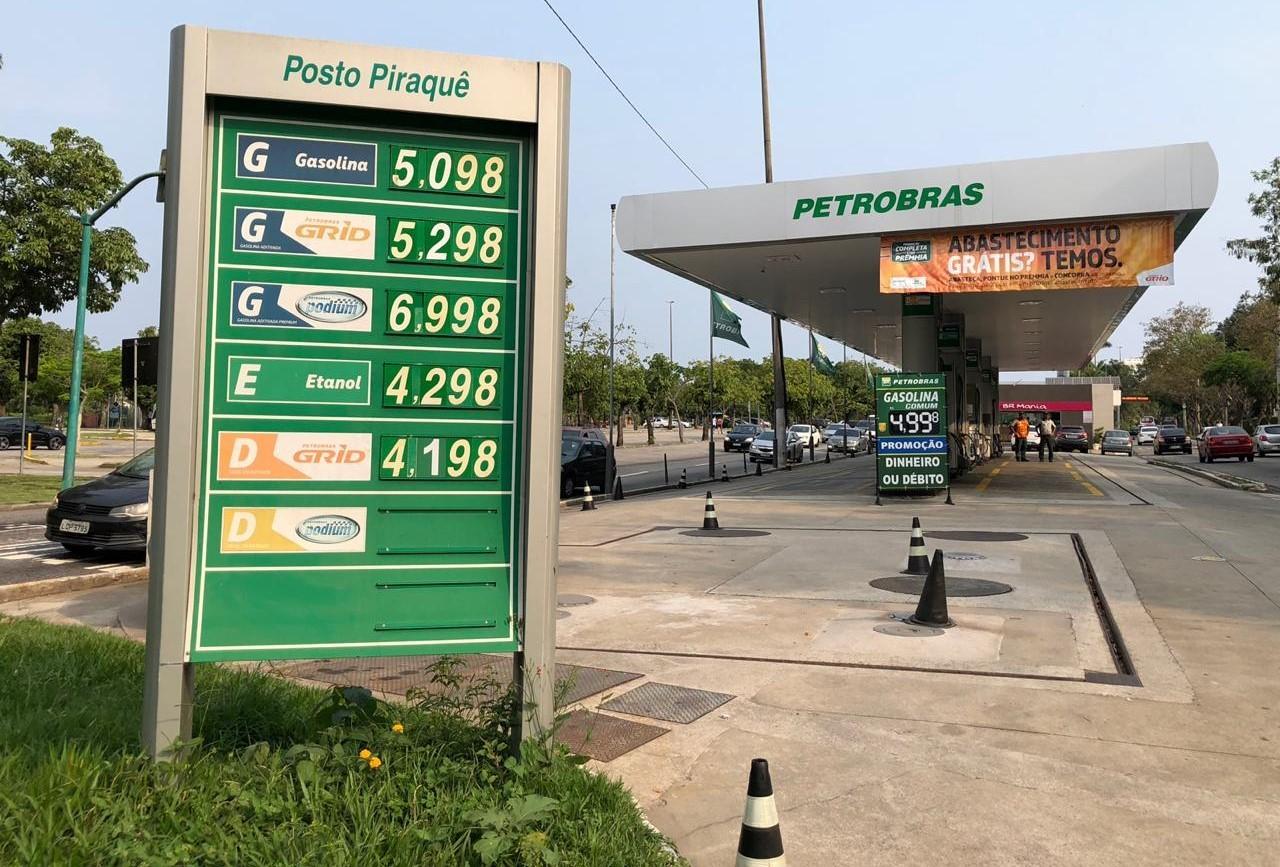 Gasolina e diesel sobem nos postos pela 11ª semana consecutiva, mostram dados da ANP