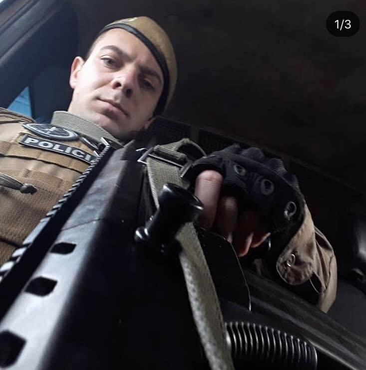 Assalto em Criciúma: policial militar baleado tem melhora no quadro de saúde e sedação é desligada