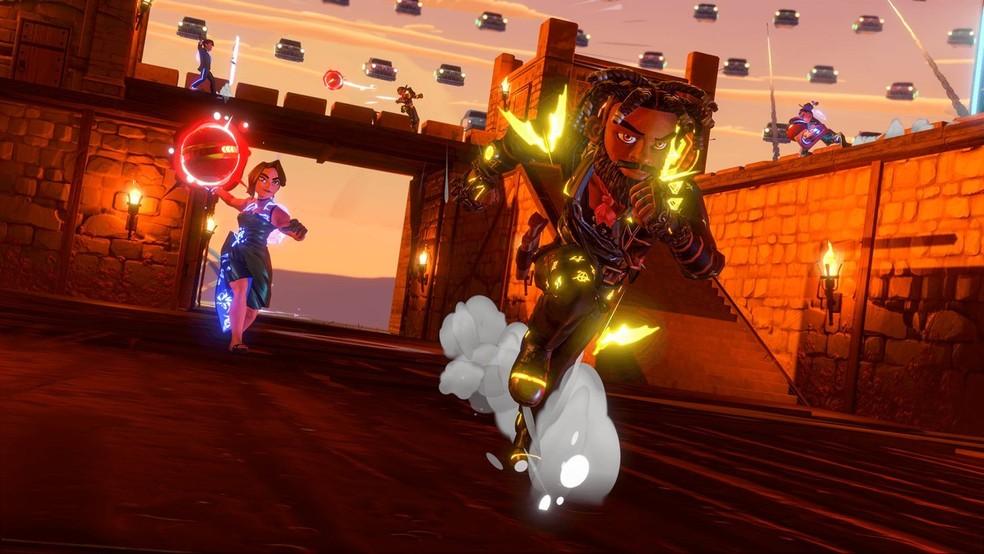 Knockout City é um dos jogos grátis do Prime Gaming em setembro — Foto: Divulgação/Electronic Arts