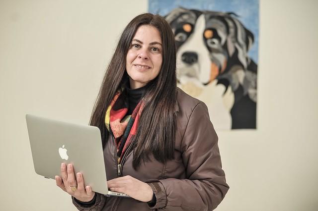 Carolina Cunha, dona de um pet shop e clínica veterinária em São Paulo (Foto: Divulgação/Sebrae-SP)