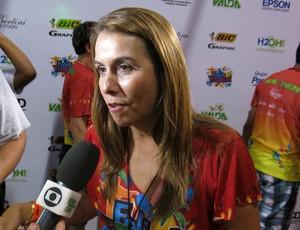 Patricia Amorim elogia atual diretoria do Fla: Sinal dos novos tempos