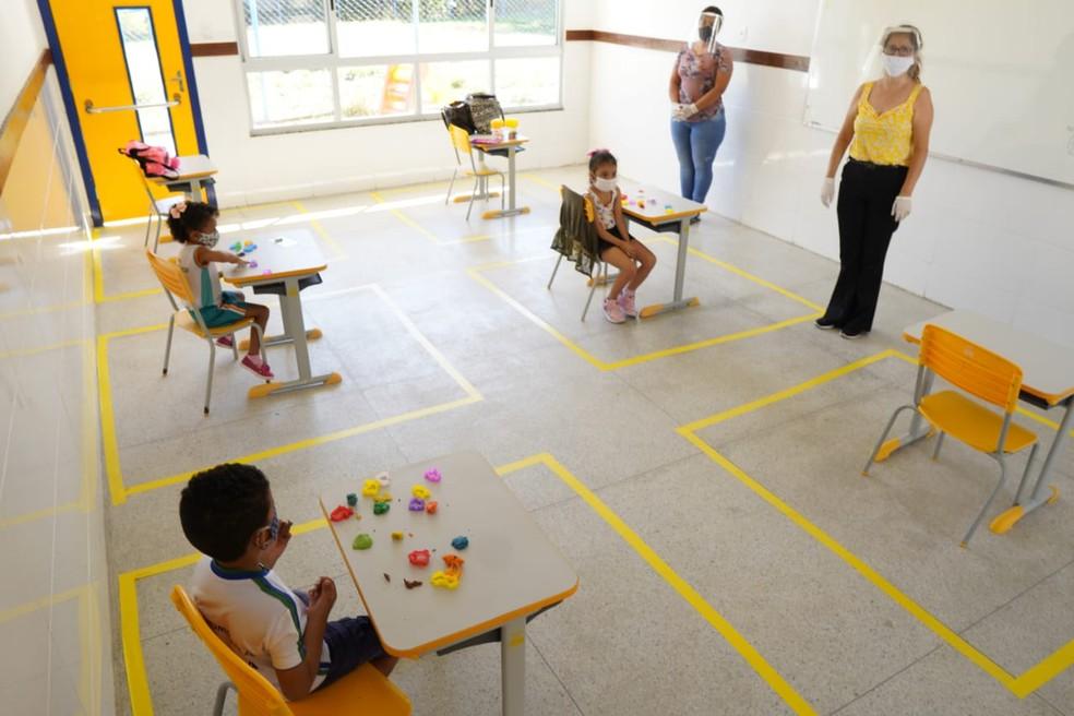 Cidades da Grande BH têm calendários distintos para a volta às aulas presenciais — Foto: Max Félix/ Divulgação