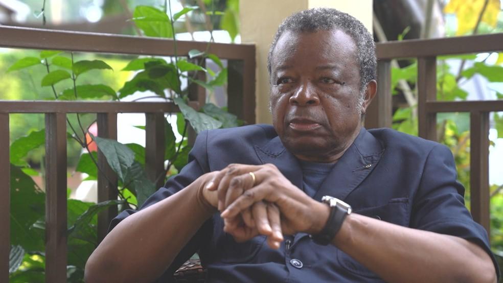 Jean-Jacques Muyembe fez parte da equipe que identificou o vírus ebola em 1976.  — Foto: Reprodução/TV Globo